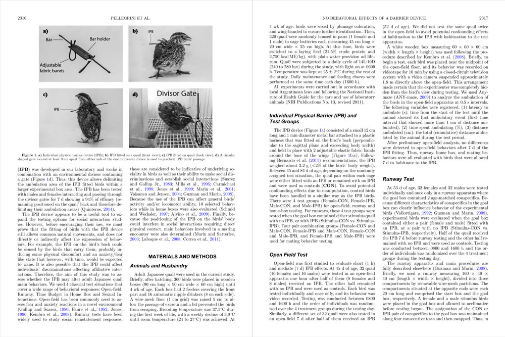 A two-page spread from a FASS journal published as an online PDF with linked references.